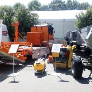 На выставке АГРО-2018  компания «ТехноДорСервис» представила оборудование для ямочного ремонта дороги.